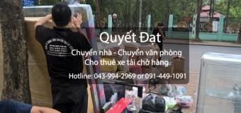 Cho thuê xe tải chuyển nhà tại phố Hoàng Như Tiếp