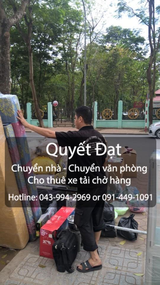 Dịch vụ chuyển nhà trọn gói giá rẻ tại phố Thạch Bàn