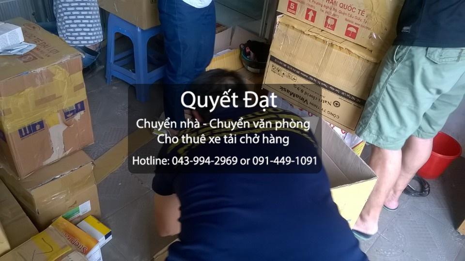 Dịch vụ chuyển văn phòng trọn gói tại đường Tân Mỹ