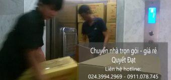 Dịch vụ chuyển nhà Quyết Đạt tại phố Hoàng Hoa Thám
