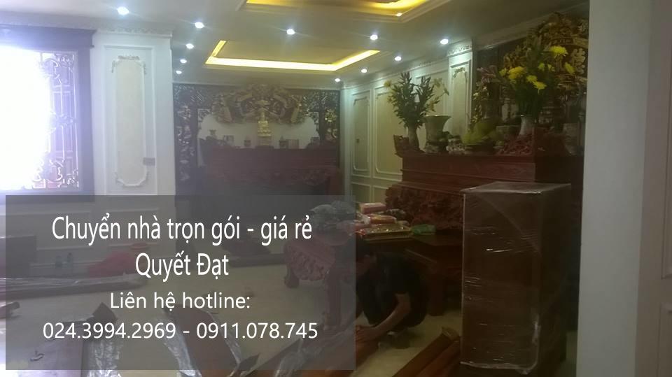 Dịch vụ chuyển nhà trọn gói giá rẻ chuyên nghiệp tại phố Trường Lâm