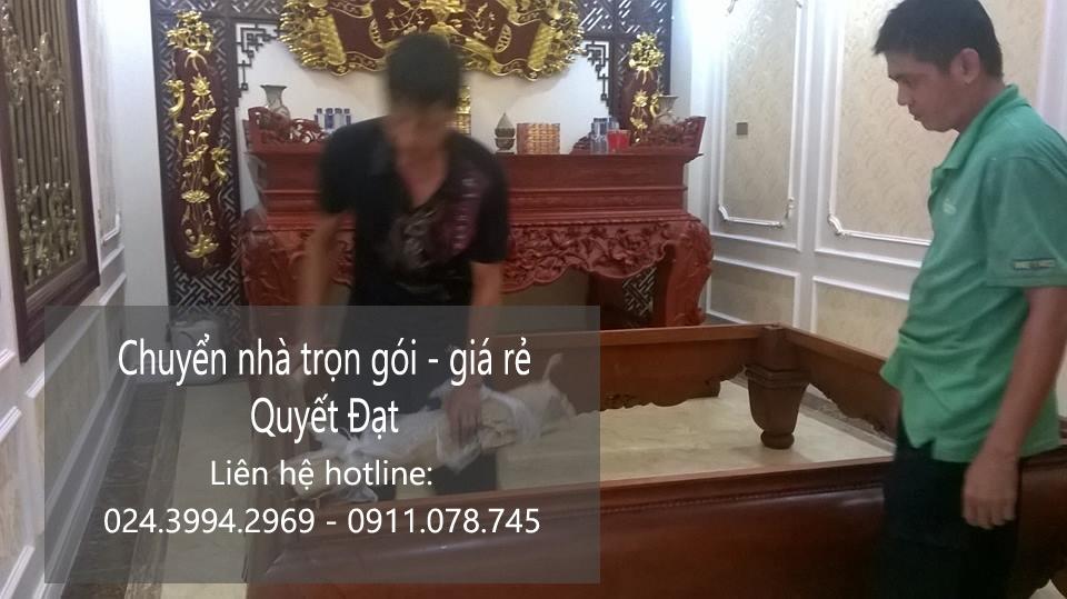 Dịch vụ chuyển nhà trọn gói giá rẻ tại phố Vũ Đức Thuận
