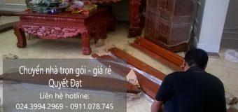 Chuyển nhà trọn gói giá rẻ tại phố Đức Giang