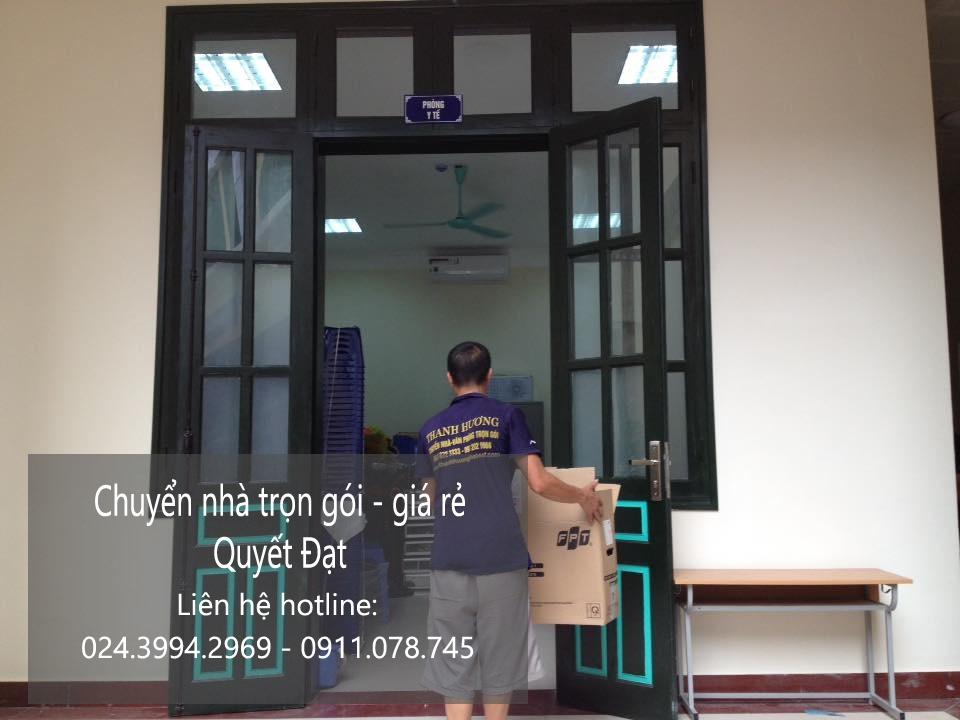 Dịch vụ chuyển nhà trọn gói tại phố Nam Du