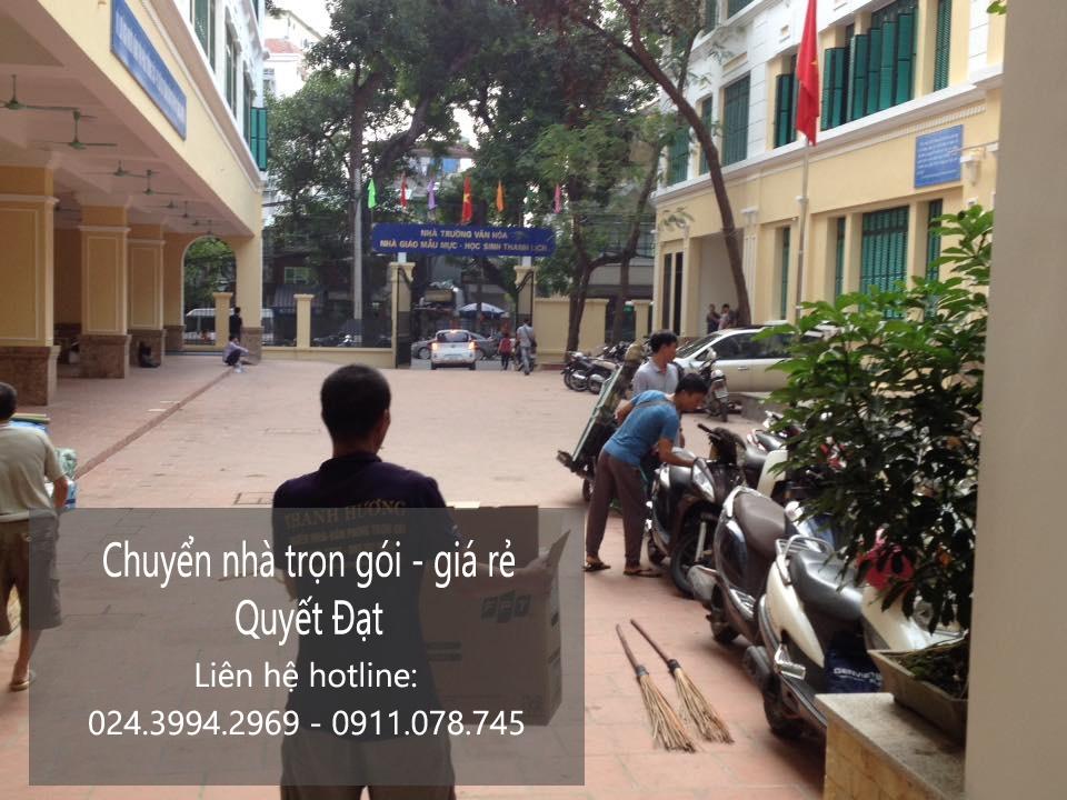 Dịch vụ chuyển nhà trọn gói tại phố Phương Mai