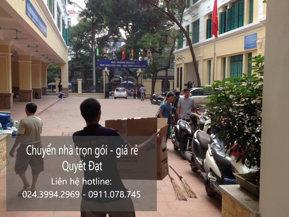 Chuyển nhà trọn gói tại phố Trần Thủ Độ