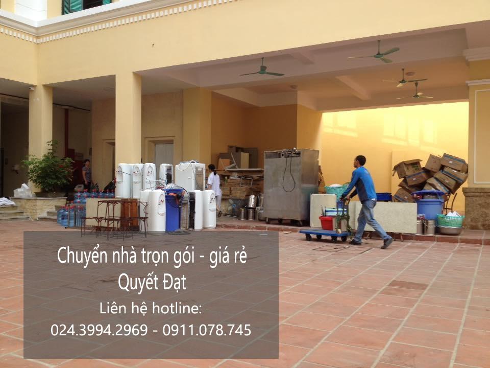 Chuyển nhà trọn gói tại phố Yên Duyên