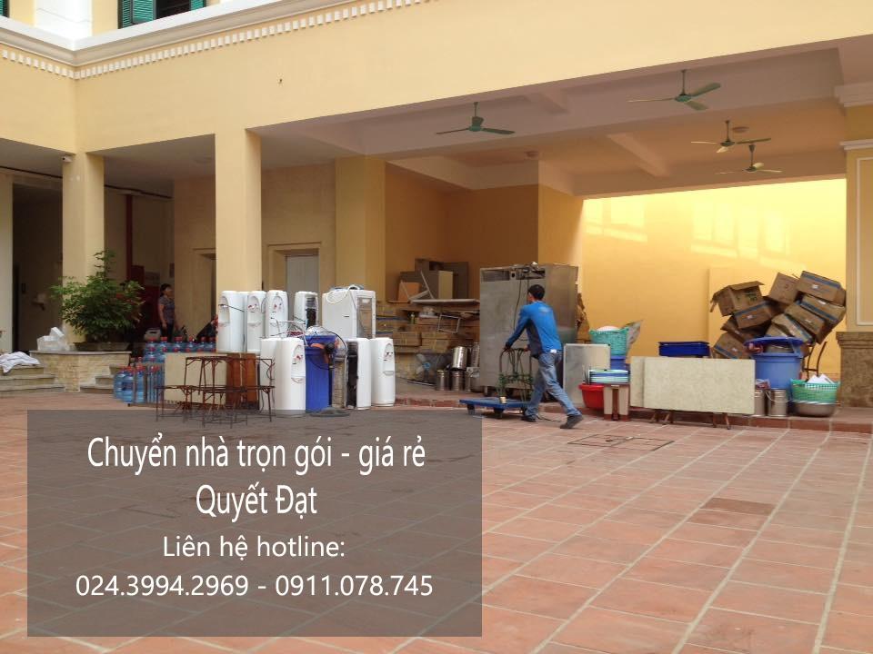 Dịch vụ chuyển nhà trọn gói tại phố Nguyễn Văn Trỗi