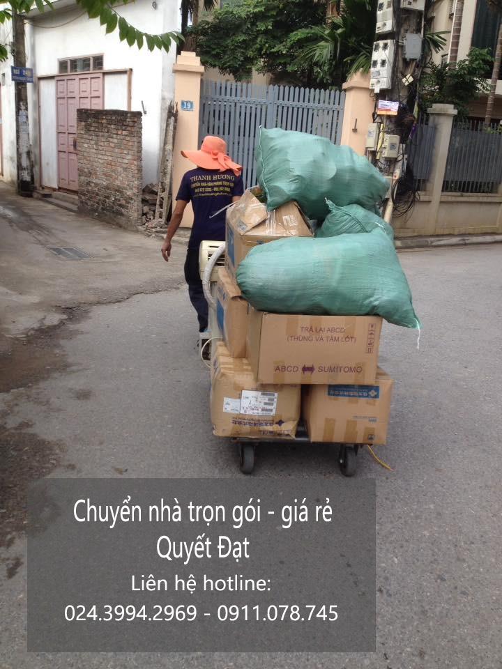 Dịch vụ chuyển nhà trọn gói tại phố Kim Quan