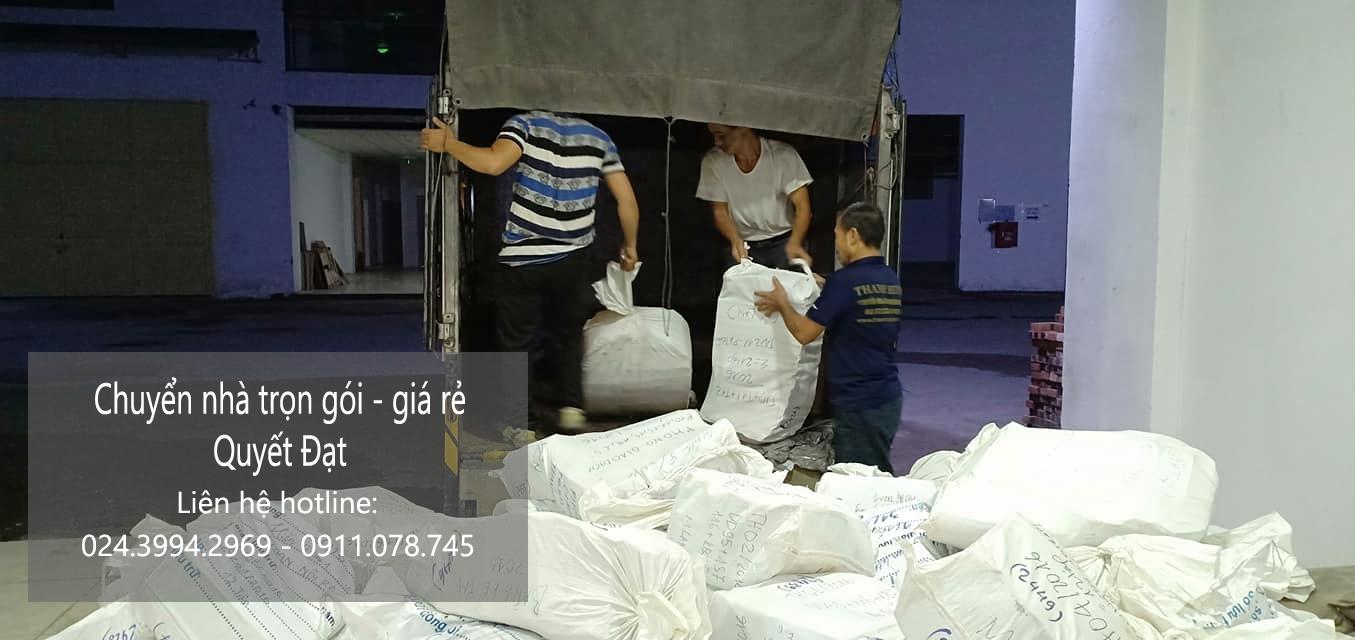 Dịch vụ chuyển nhà Quyết Đạt tại phố Lê Hồng Phong