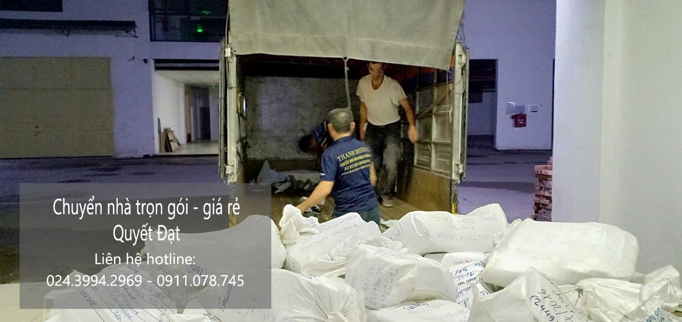 chuyển nhà trọn gói tốt nhất tại quận Long Biên