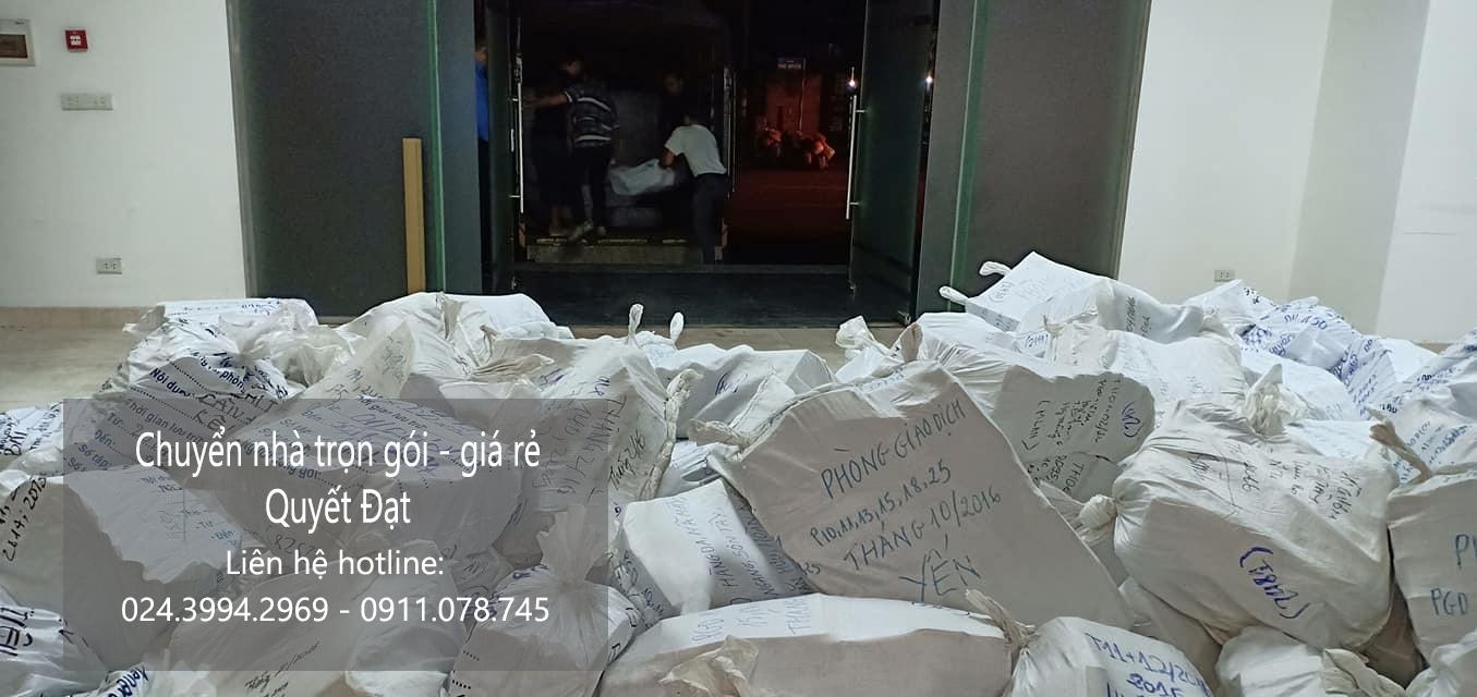 Dịch vụ chuyển nhà Quyết Đạt tại phố Duy Tân
