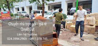 Chuyển nhà Quyết Đạt tại phố Đoàn Nhữ Hài