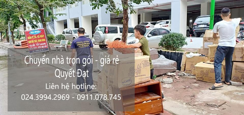 Chuyển nhà trọn gói Quyết Đạt tại phố Đường Thành