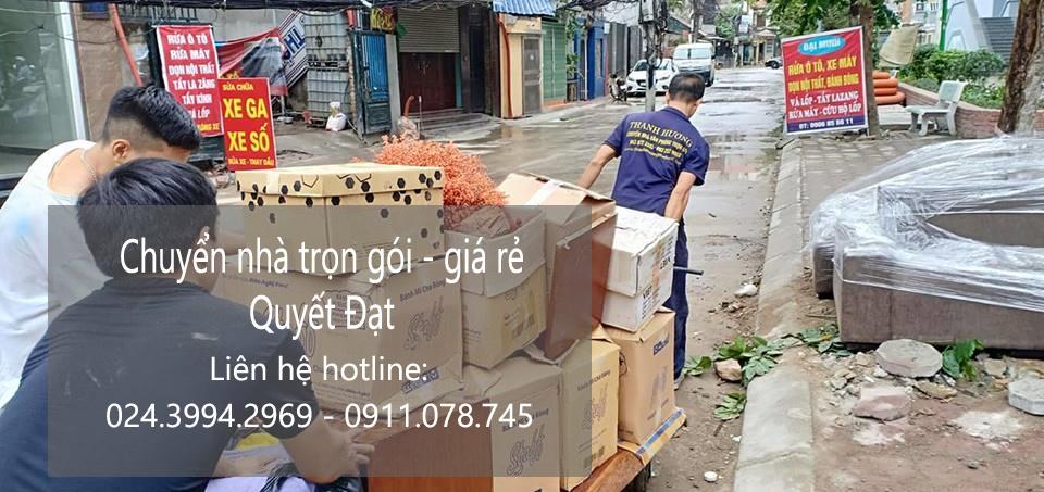 Dịch vụ chuyển nhà Quyết Đạt tại phố Đinh Liệt