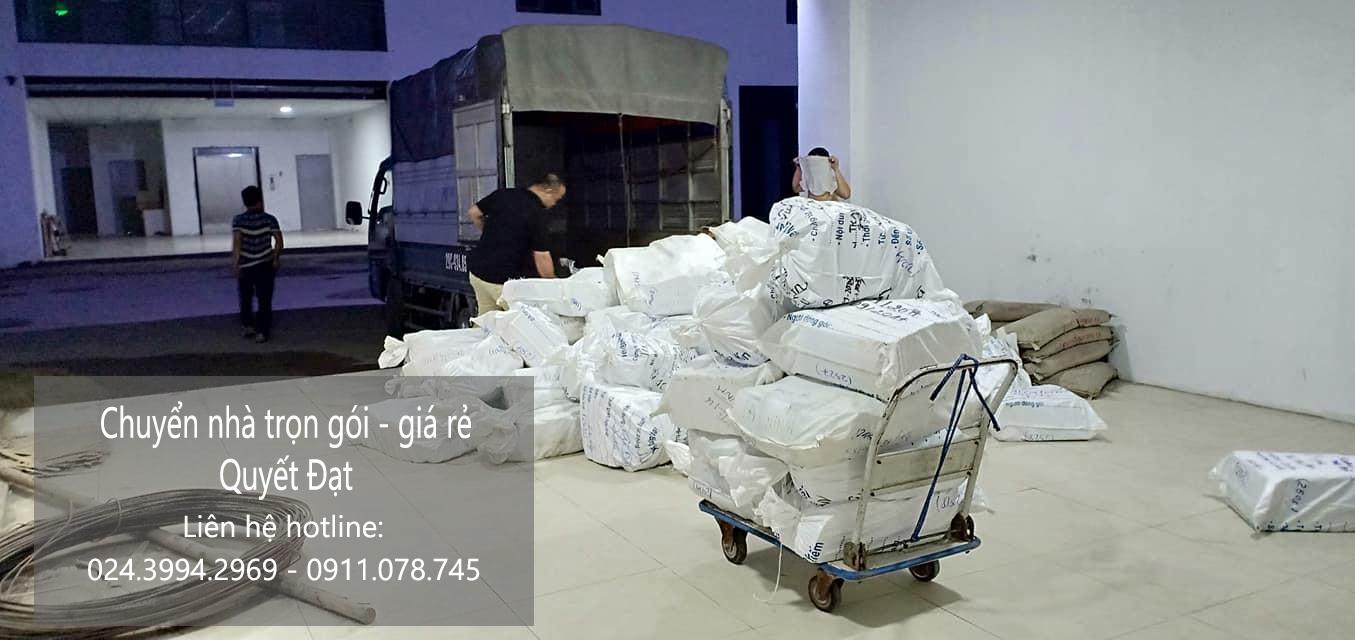 Dịch vụ chuyển nhà Quyết Đạt tại phố Khúc Hạo