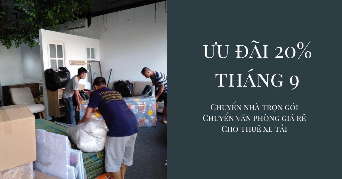 Dịch vụ chuyển nhà tại xã Khai Thai
