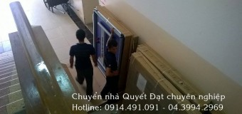 Dịch vụ chuyển nhà trọn gói tại phố Ngọc Thụy