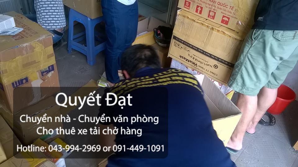 Chuyển nhà trọn gói Quyết Đạt tại phố Phú Viên
