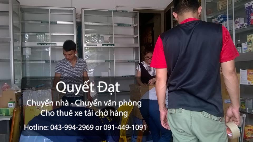 Công ty vận tải Quyết Đạt cho thuê xe tải chuyển nhà giá rẻ tại phố Hoa Lâm