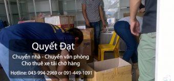Chuyển nhà trọn gói tại đường Long Biên-Xuân Quan