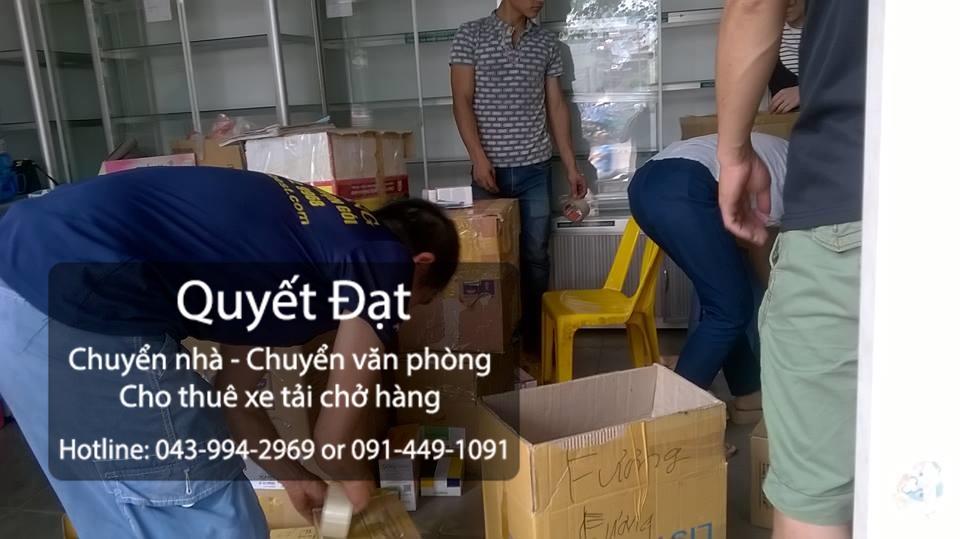 Chuyển nhà Quyết Đạt tại đường Long Biên-Xuân Quan