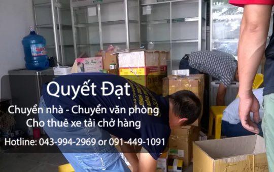 Dịch vụ chuyển nhà phố Yên Thế đi Thanh Hóa