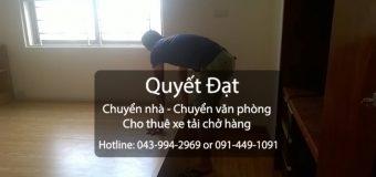 Chuyển nhà trọn gói uy tín tại phố Việt Hưng