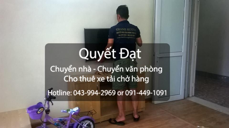 Dịch vụ chuyển nhà trọn gói chuyên nghiệp tại phố Nguyễn Du