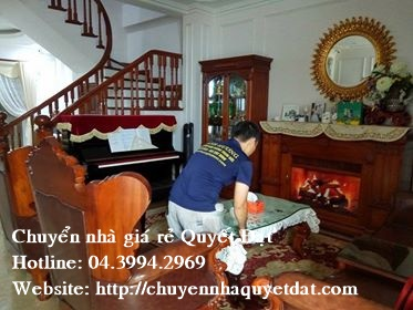 Chuyển văn phòng giá rẻ tại phố Trần Thái Tông