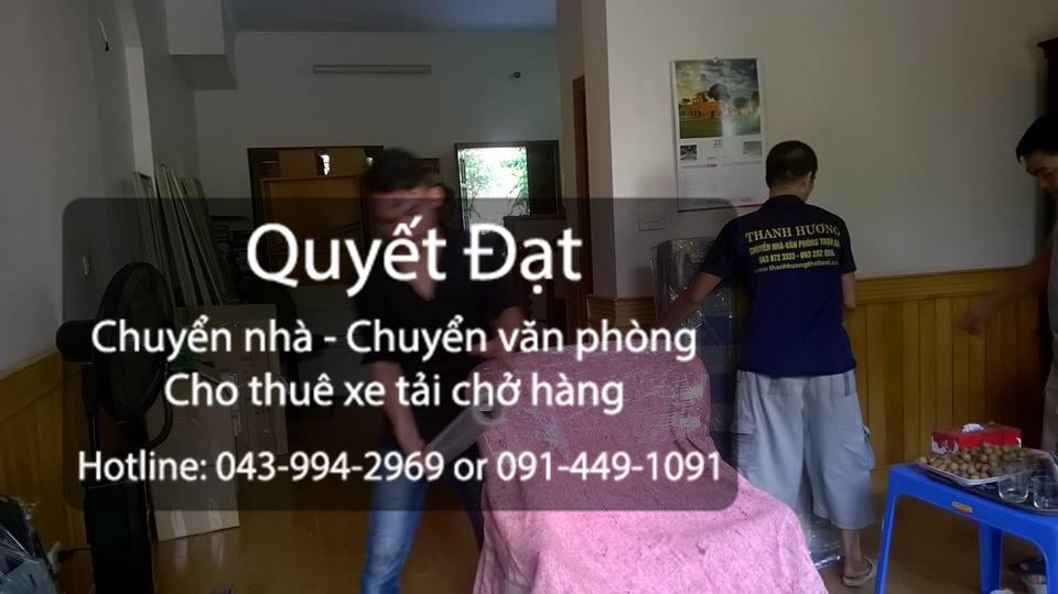 Dịch vụ chuyển nhà trọn gói giá rẻ tại phố Sài Đồng