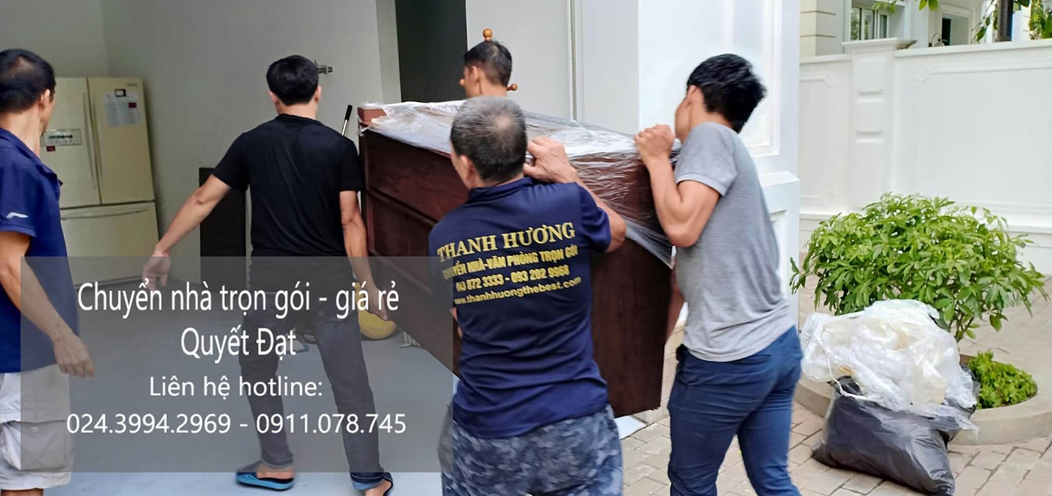 Dịch vụ chuyển nhà trọn gói Quyết Đạt tại phố Cổ Tân