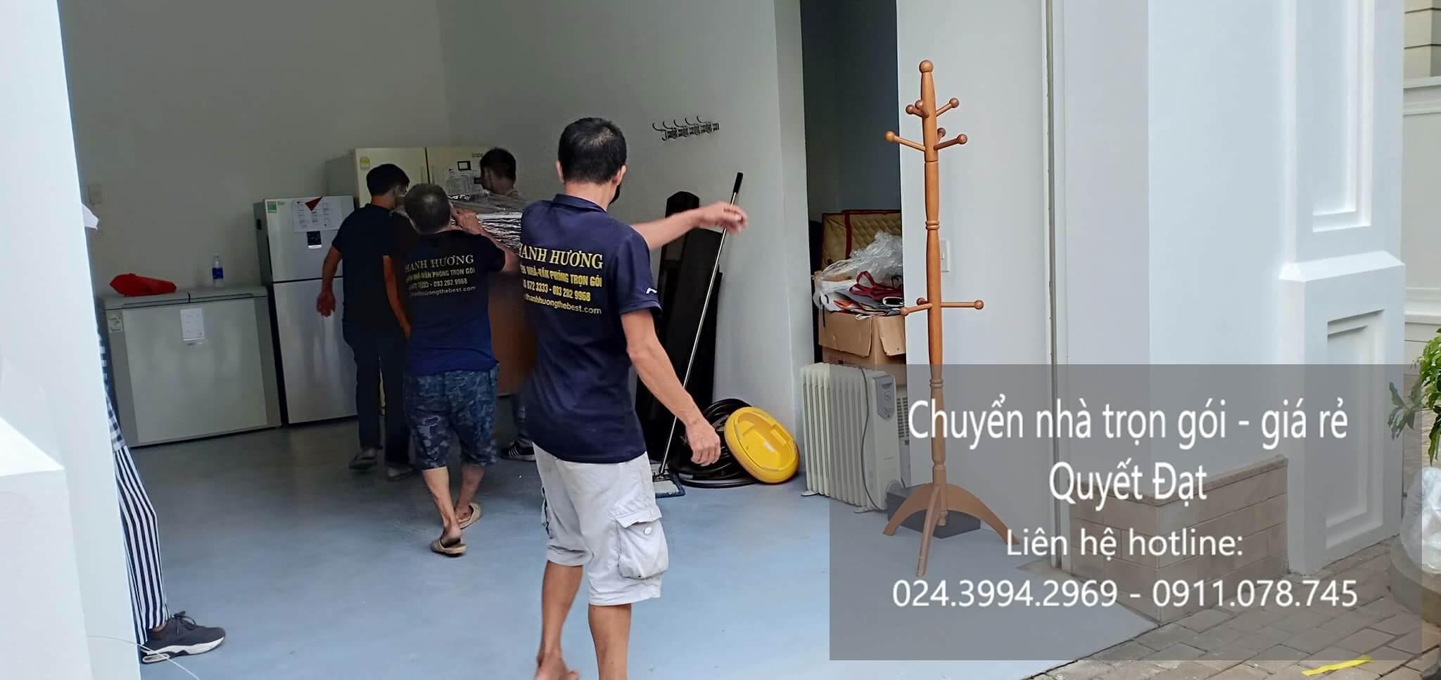 Dịch vụ chuyển nhà Quyết Đạt tại phố Đông Thái