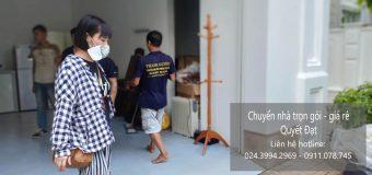 Dịch vụ chuyển nhà trọn gói giá rẻ tại phố Ấu Triệu