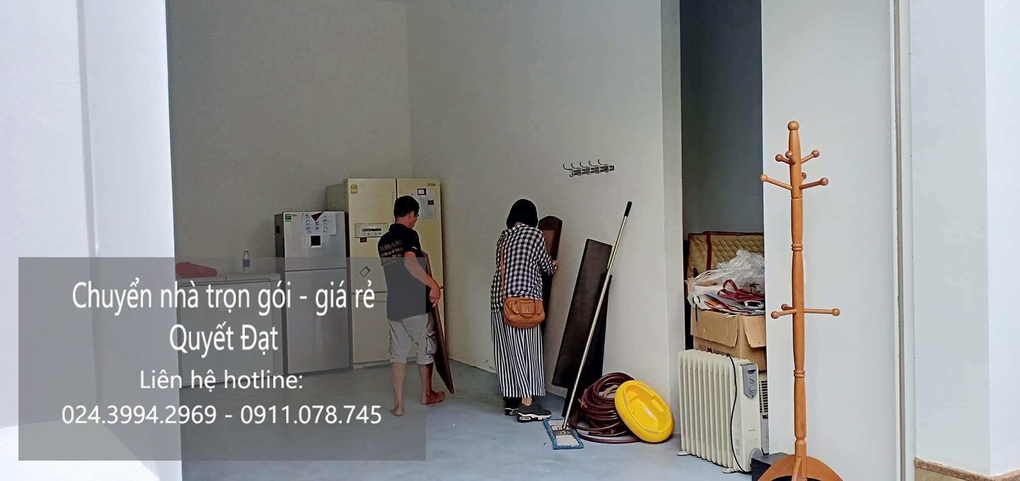 Dịch vụ chuyển nhà trọn gói Quyết Đạt tại phố Gia Ngư