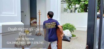 Dịch vụ chuyển nhà Quyết Đạt tại đường bùi huy bích