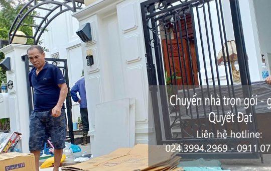 Chuyển nhà giá rẻ phố Đinh Công Tráng đi Quảng Ninh