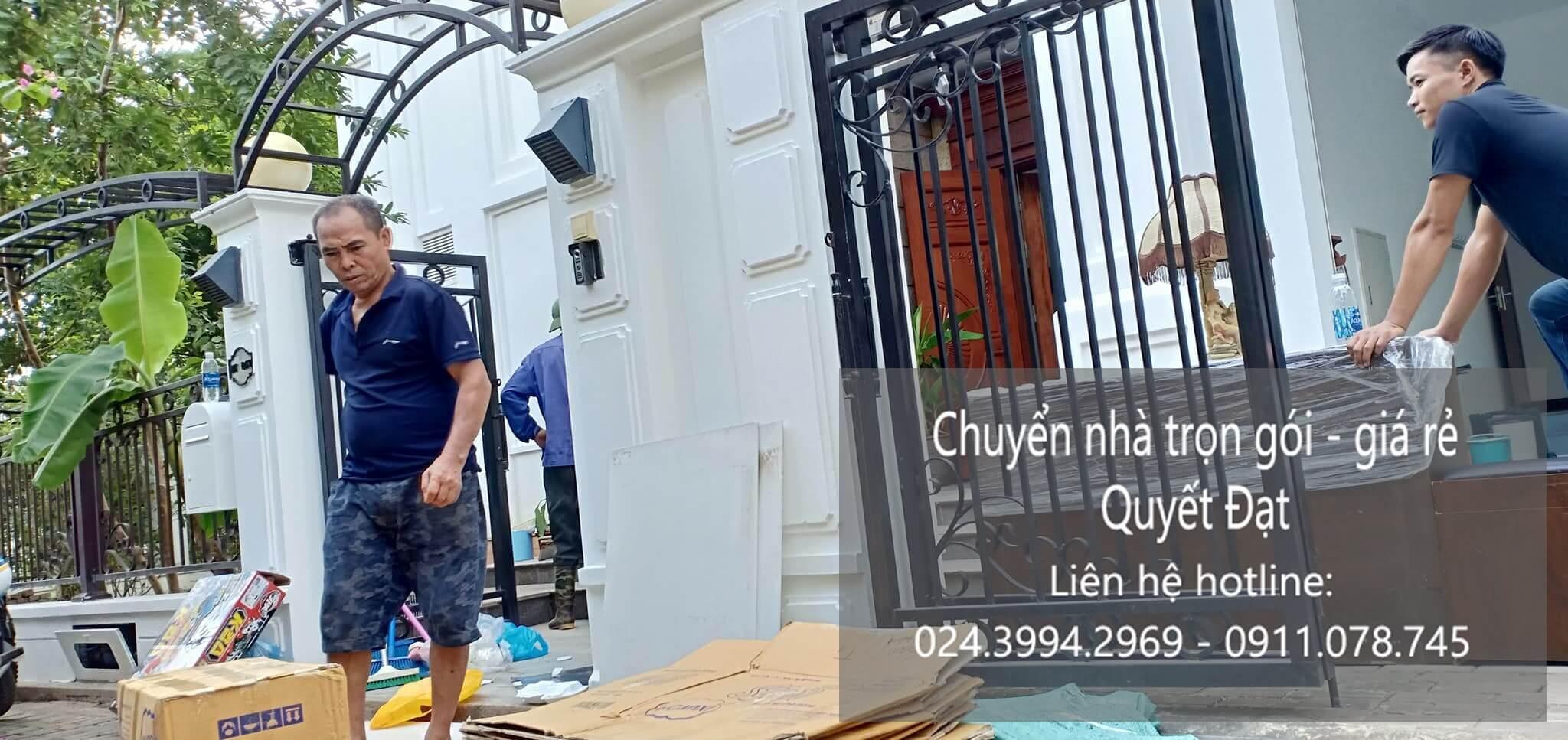 Dịch vụ chuyển nhà trọn gói tại phường Việt Hưng