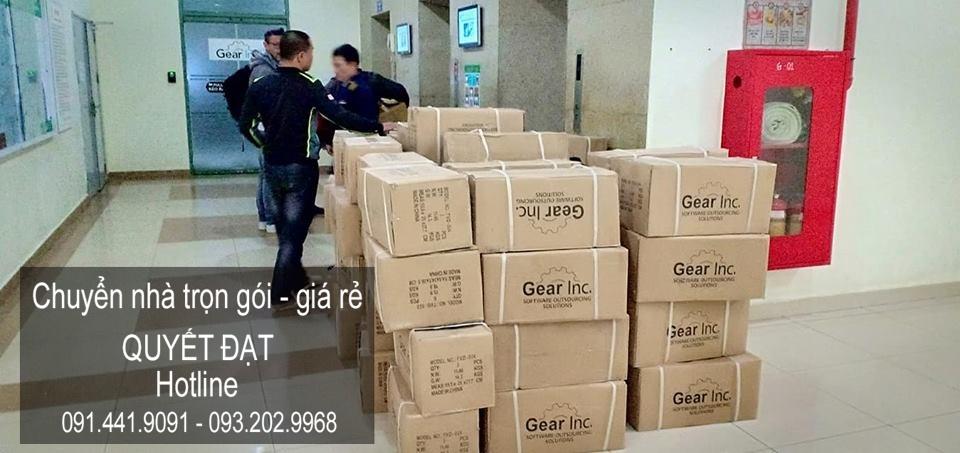 Dịch vụ chuyển nhà trọn gói tại phố Lê Quý Đôn