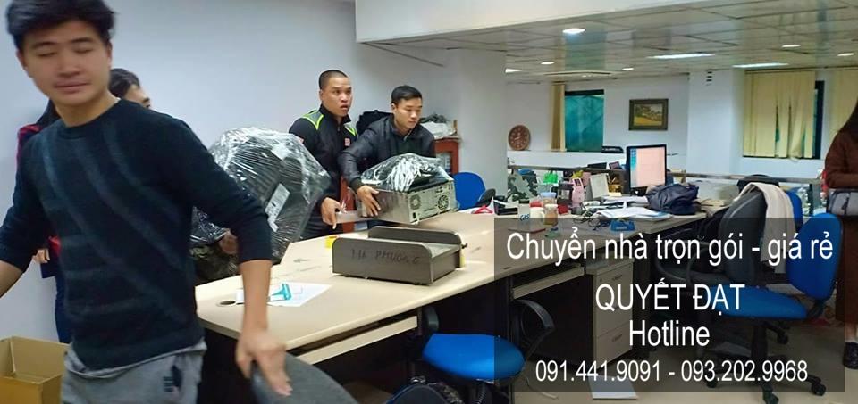 Dịch vụ chuyển nhà Quyết Đạt tại phố Nguyễn Mậu Tài