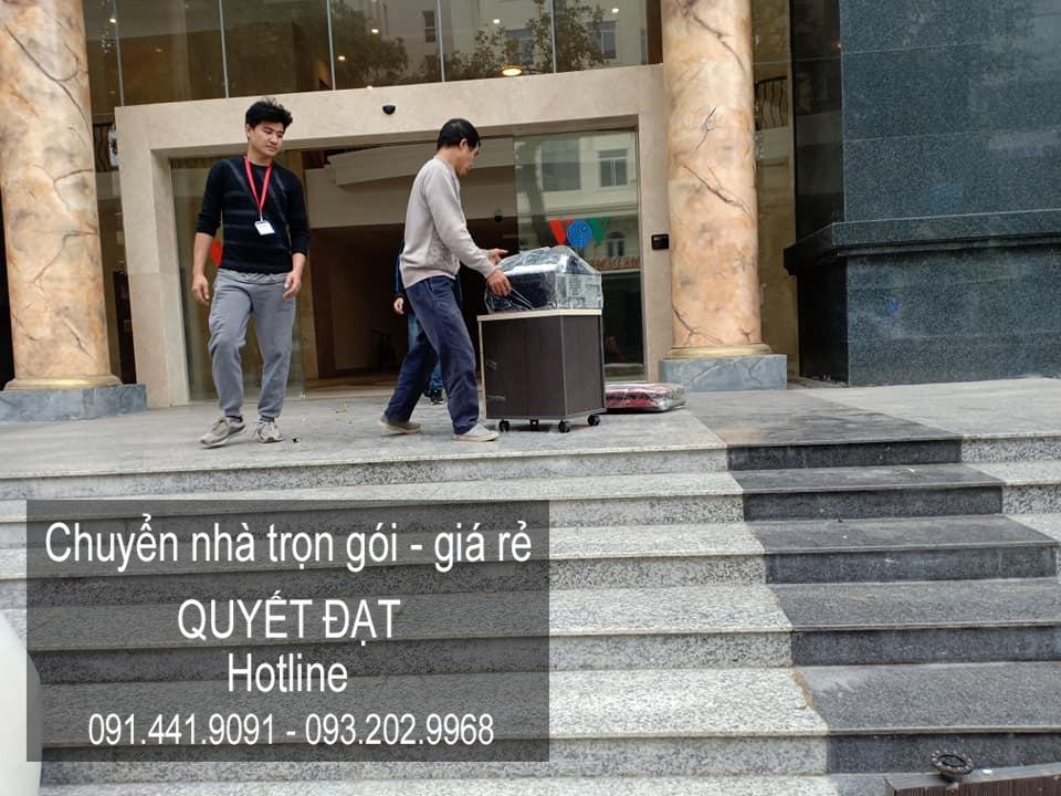 Chuyển nhà Quyết Đạt tại phố Lê Văn Hưu