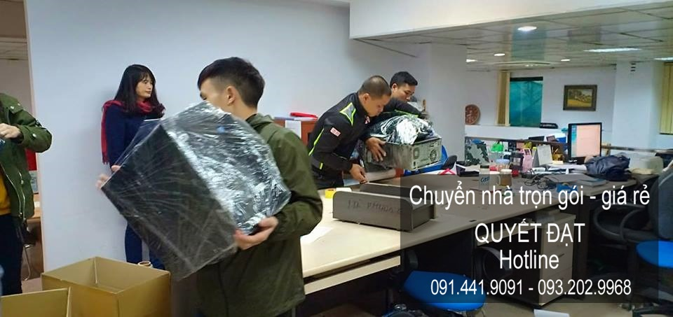Chuyển nhà Quyết Đạt tại phố Nguyễn Phạm Tuân