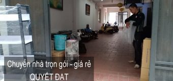 Dịch vụ chuyển nhà Quyết Đạt tại phố Hoàng Sâm