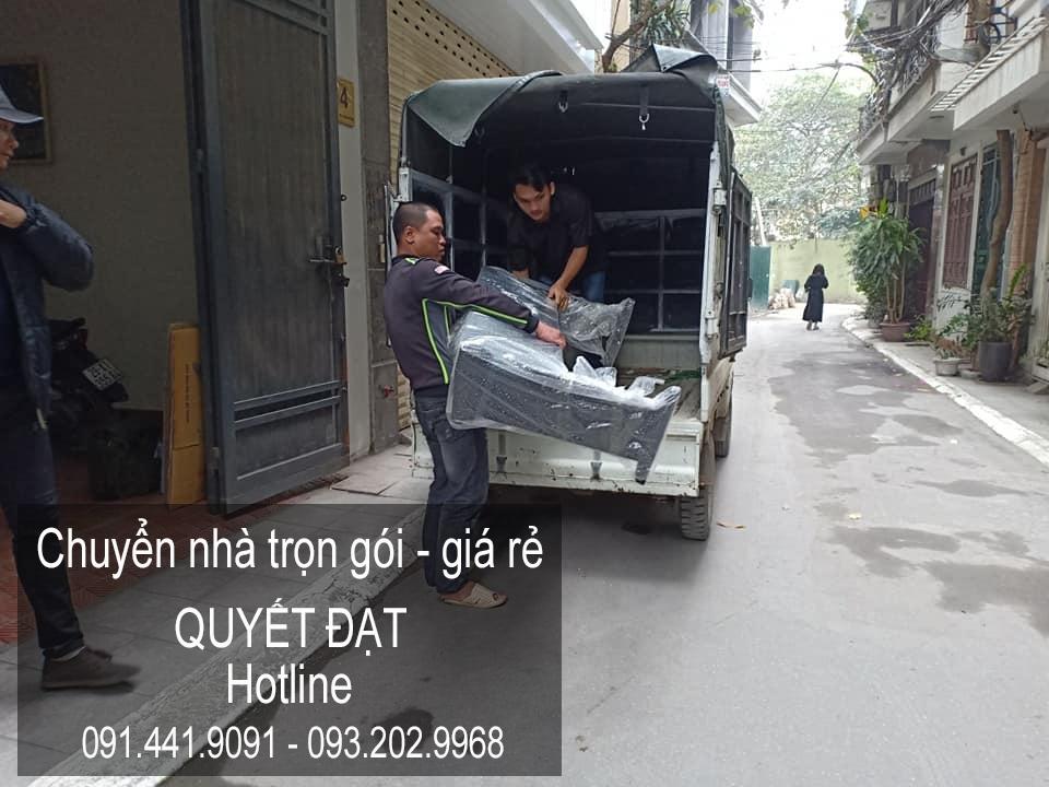 Chuyển nhà Quyết Đạt tại phố Lê Thạch