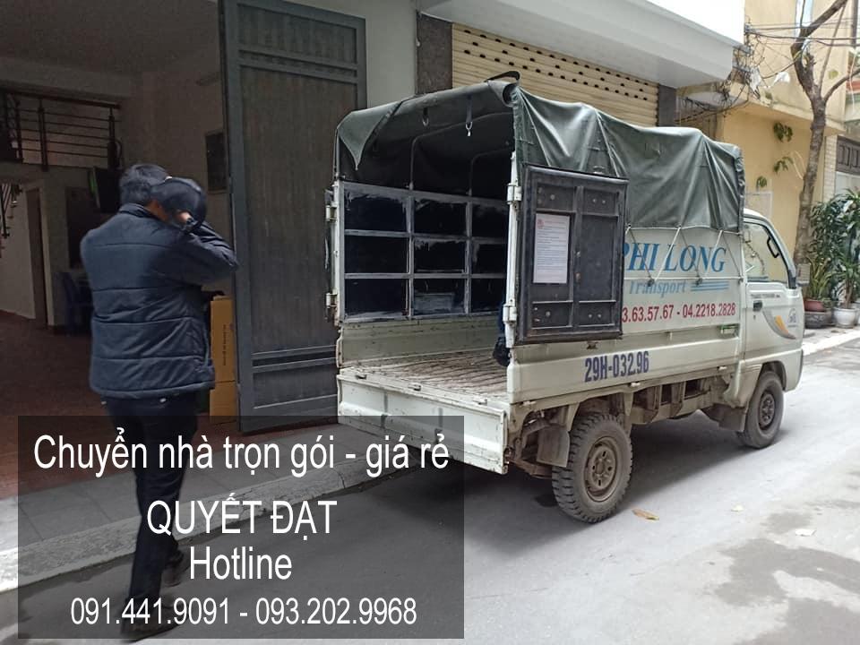 Dịch vụ chuyển nhà trọn gói tại phố Đa Tốn