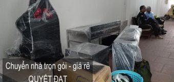 Dịch vụ chuyển nhà trọn gói Quyết Đạt tại phố Minh Khai