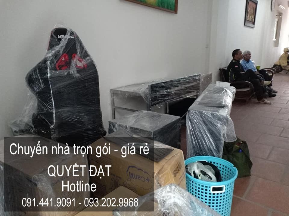 Dịch vụ chuyển nhà trọn gói tại phố Nguyễn Bình
