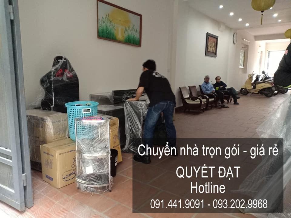 Dịch vụ chuyển nhà Quyết Đạt tại phố Nguyễn Huy Tự