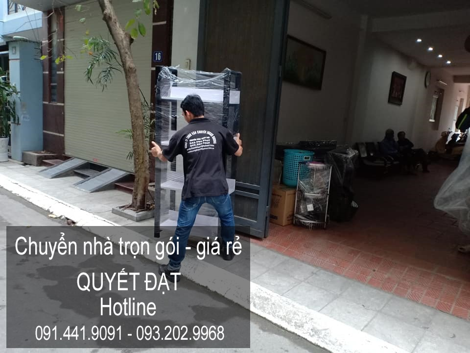 Dịch vụ chuyển nhà Quyết Đạt tại phố Nguyễn Hiền
