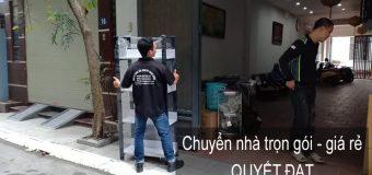 Chuyển nhà Quyết Đạt tại phố Kim Quan